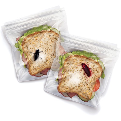 FRED AND FRIENDS Lunch Bugs Sandwich Bags [LBUG] - Lunch Box / Kotak Makan / Rantang